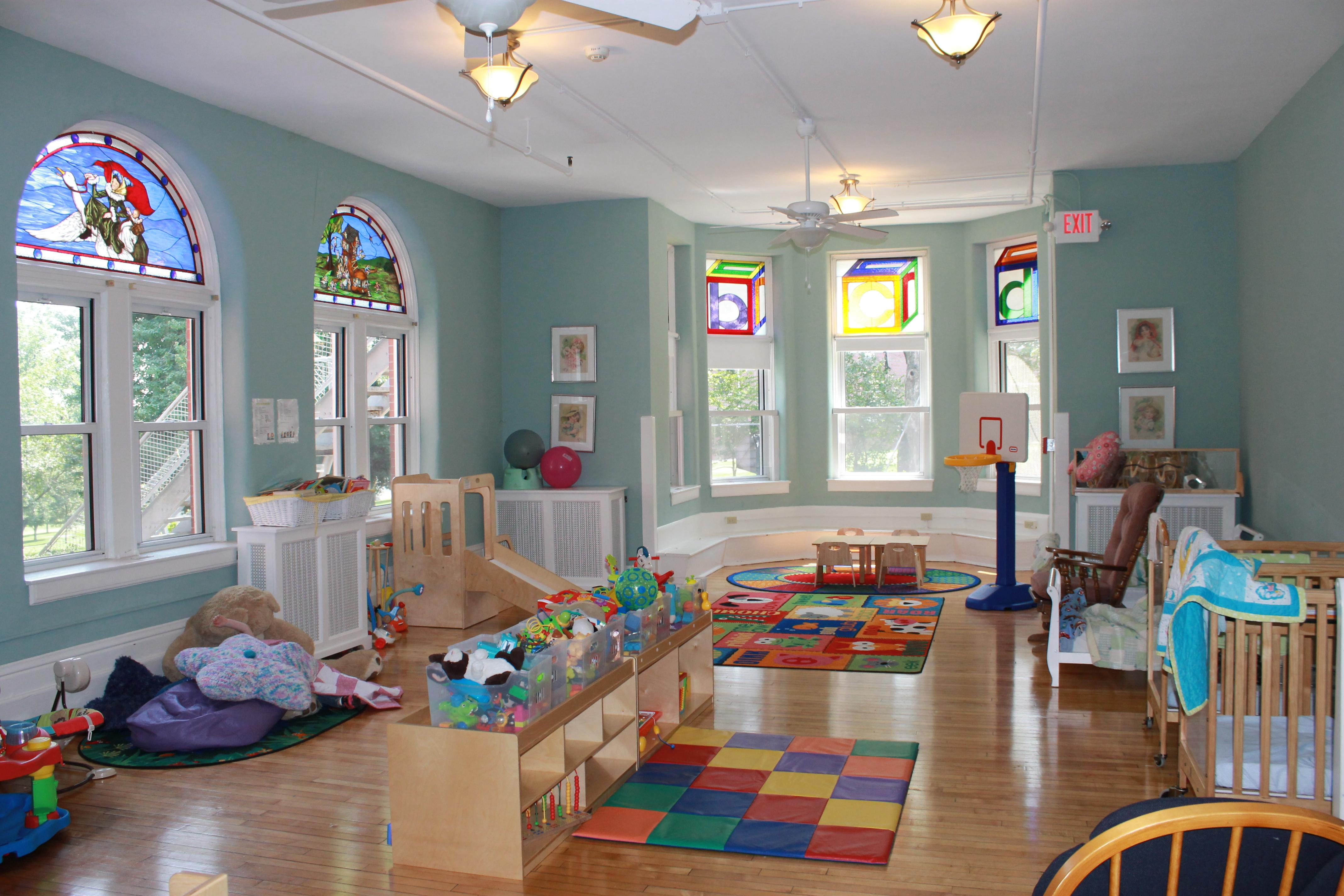 Nursery the noyes home for children for Noyes home