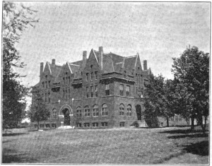 Photo and Story of The Noyes Home For Children from 1895 known then as The Home for The Little Wanderers.
