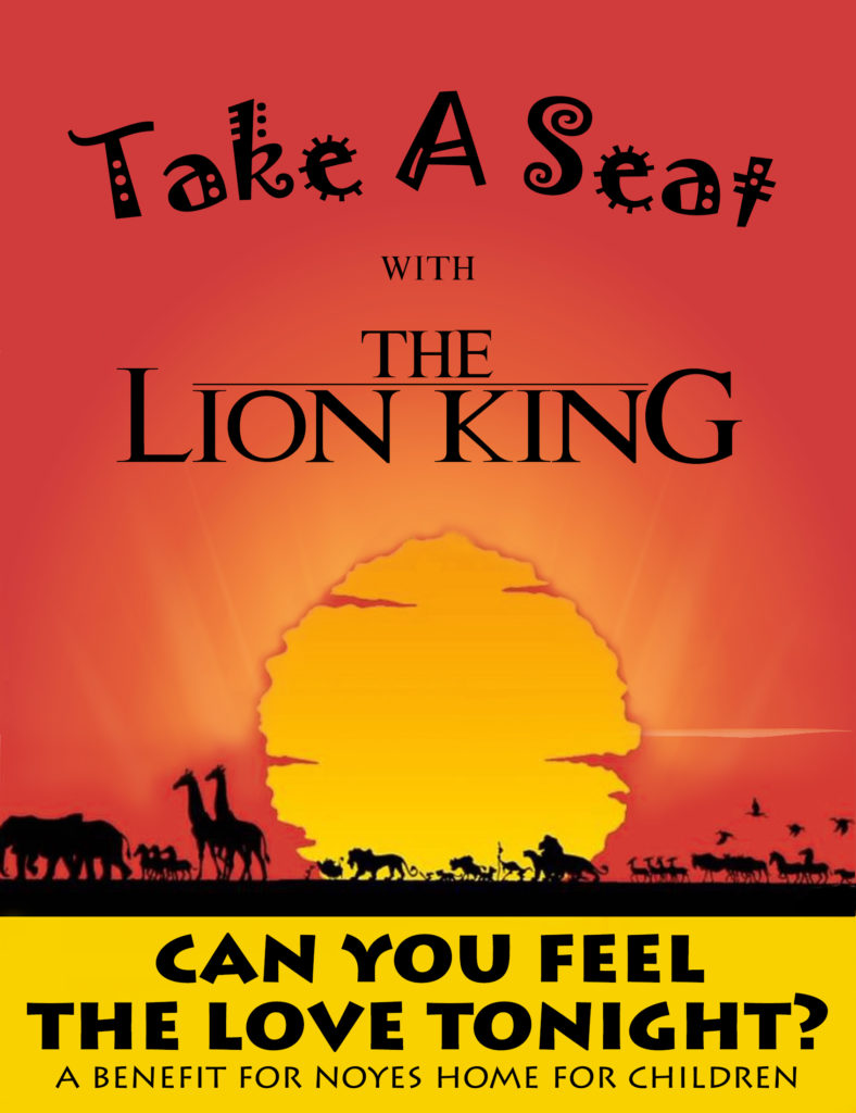 Invitation Color Change WIth Lettering Change 5 17 17 788x1024 - Take A Seat with The Lion King September 9th 2017