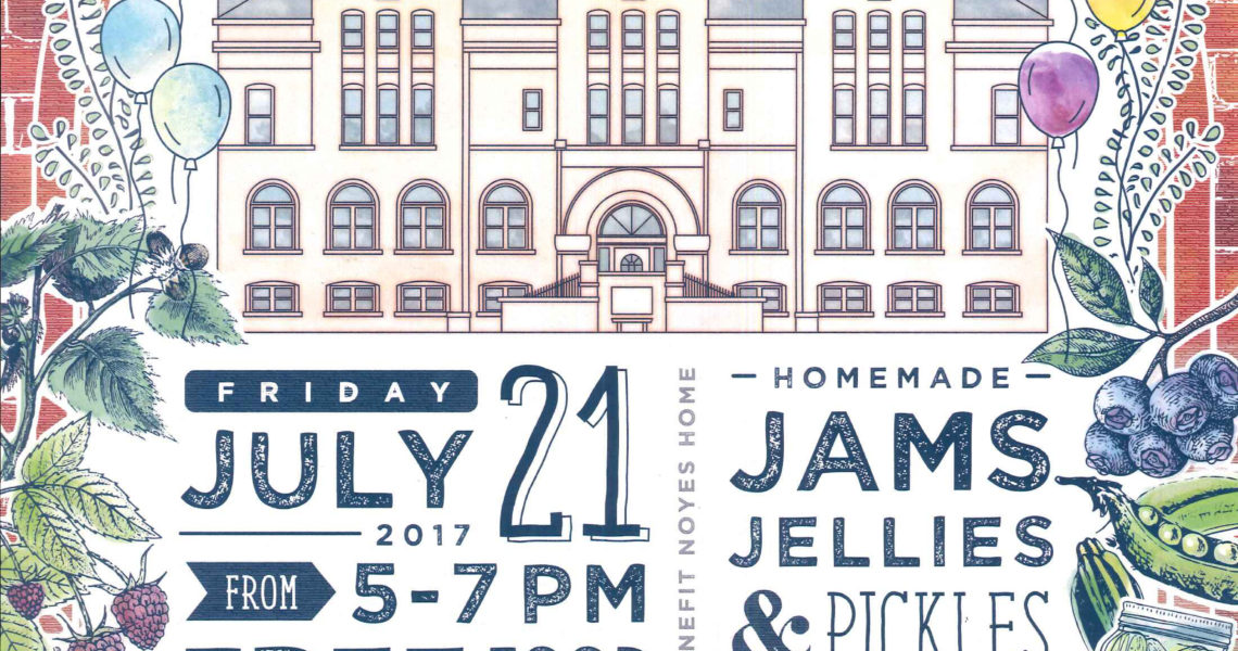 Block Party 2017 Poster 1140x600 - Noyes Home Block Party July 21 2017