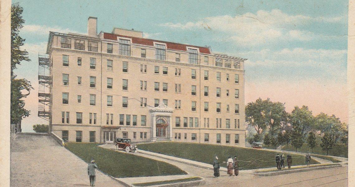 History Of Noyes Hospital in St. Joseph Mo - aka Frederick Towers