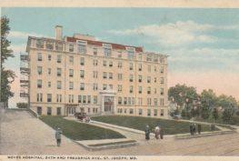 Noyes Hospital St. joseph Mo 2 263x177 - History Of Noyes Hospital in St. Joseph Mo - aka Frederick Towers