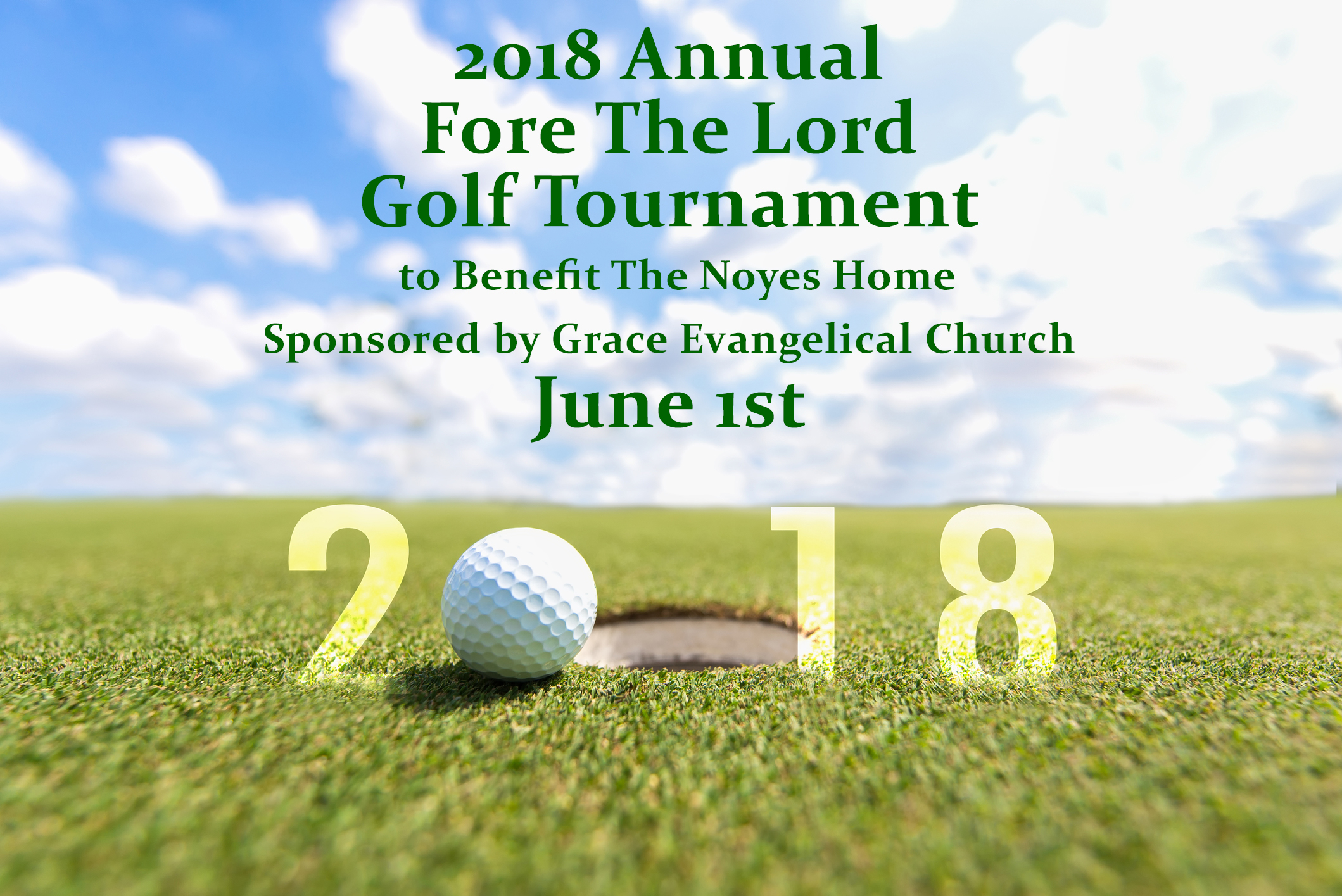 2018 fore the lord golf tournament to benefit the noyes for Noyes home